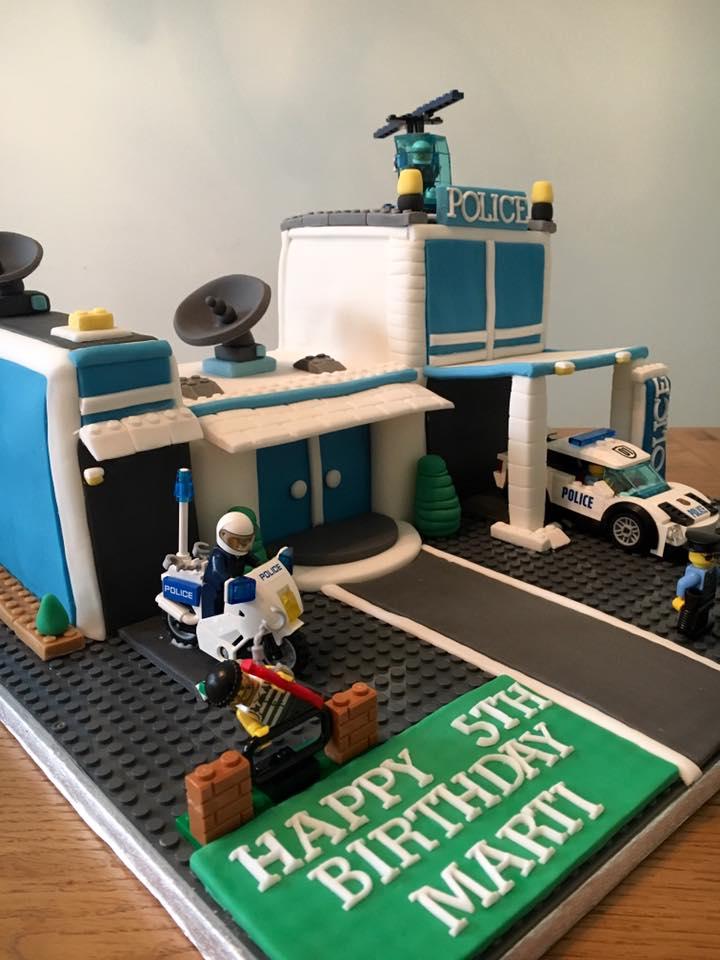 Lego Police Cake Donna Perks Cakes