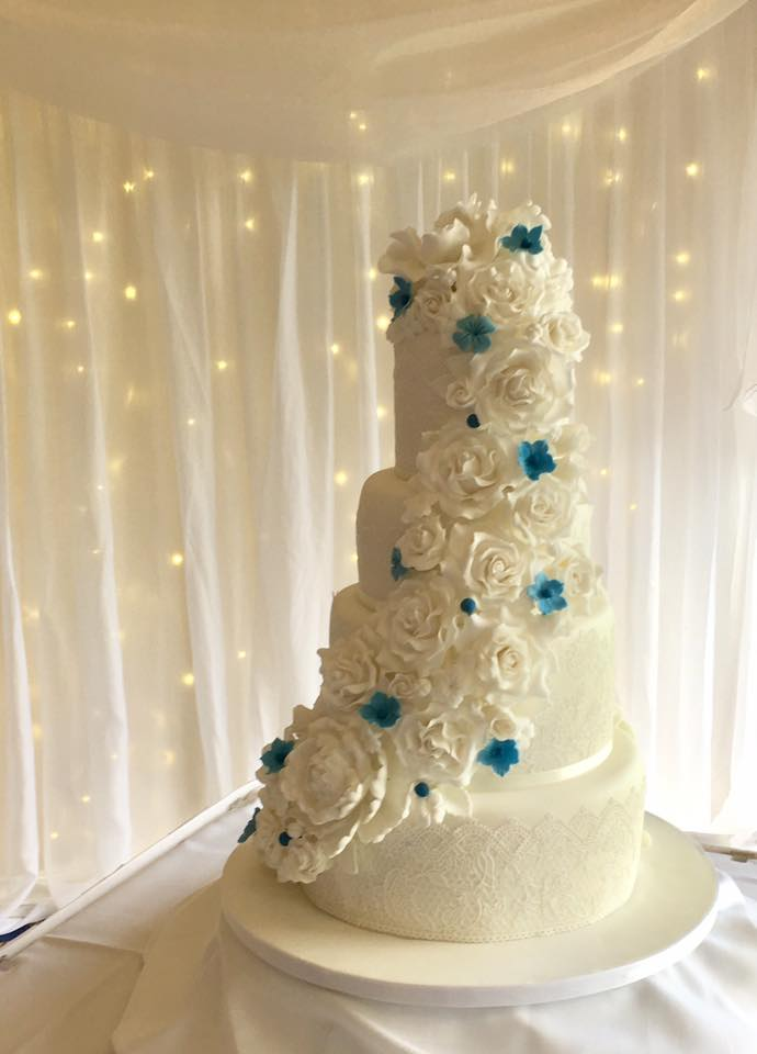 Chelsea FC Wedding Cake