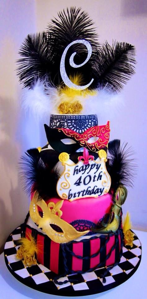 Prime Masquerade Birthday Cake Donna Perks Cakes Funny Birthday Cards Online Alyptdamsfinfo