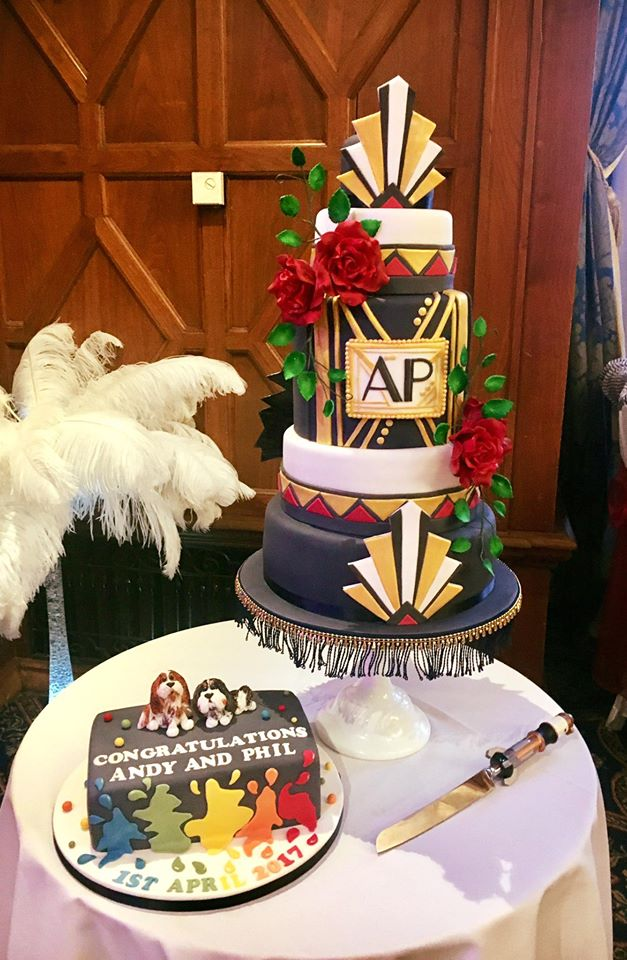 Dr Who Wedding Cake