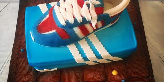 Adidas Sneaker Cake