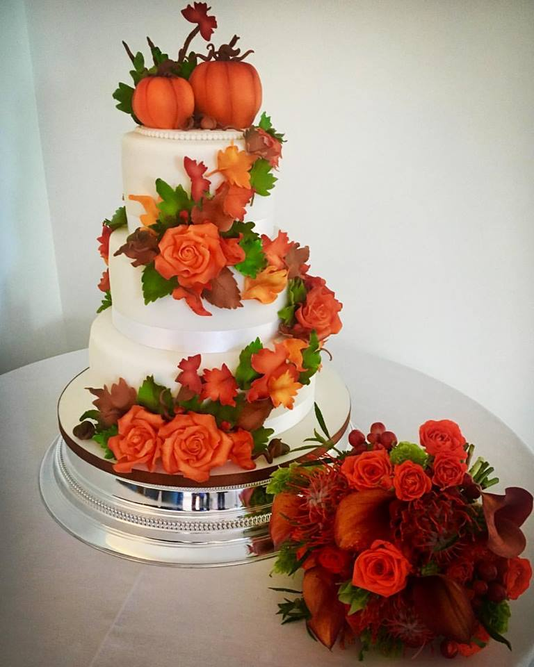 Traditional African Wedding Cake - Donna Perks Cakes