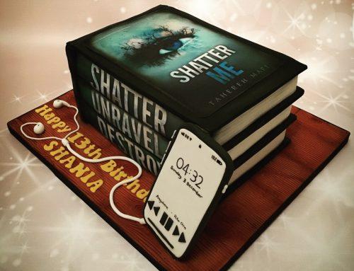 Shatter Me Trilogy Cake