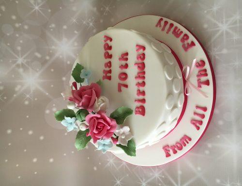 70 Birthday Cake